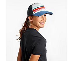 Saucony Foam Trucker Hat, White, dynamic