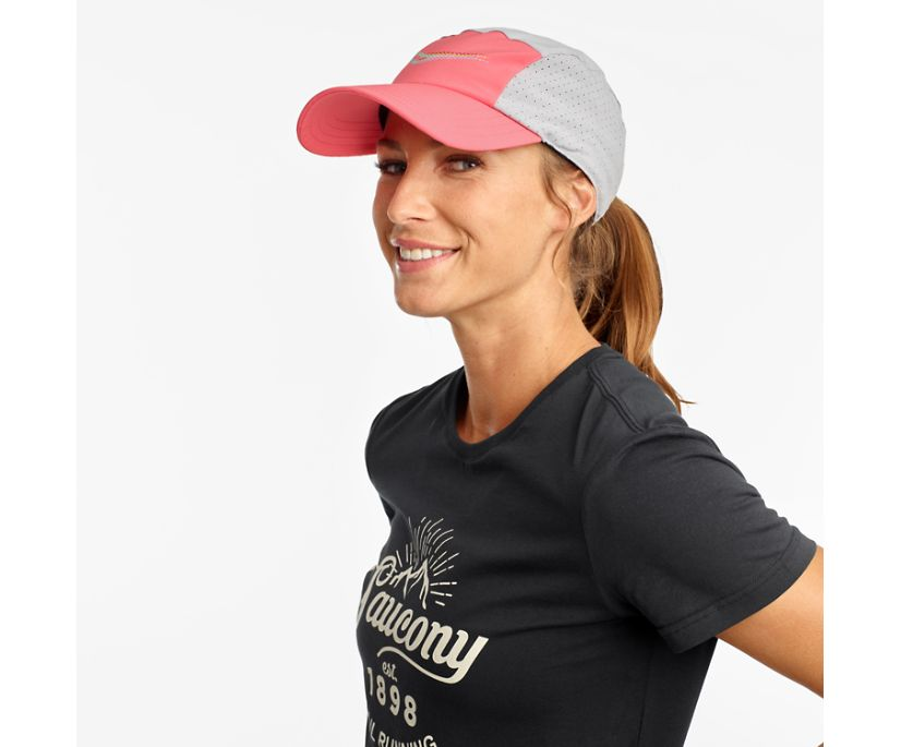 Outpace Hat, Calypso Coral, dynamic