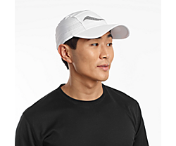 Outpace Hat, White, dynamic