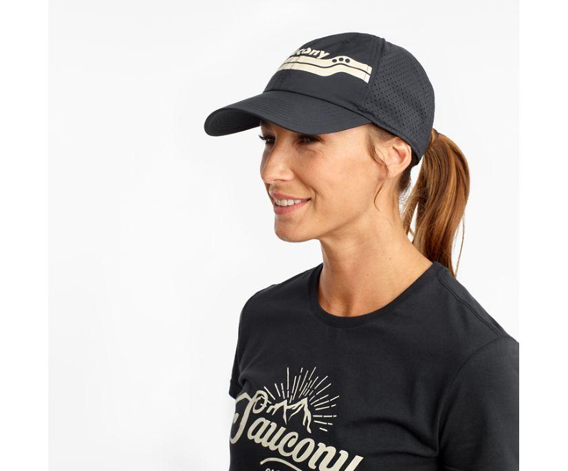 Doubleback Hat, Black, dynamic