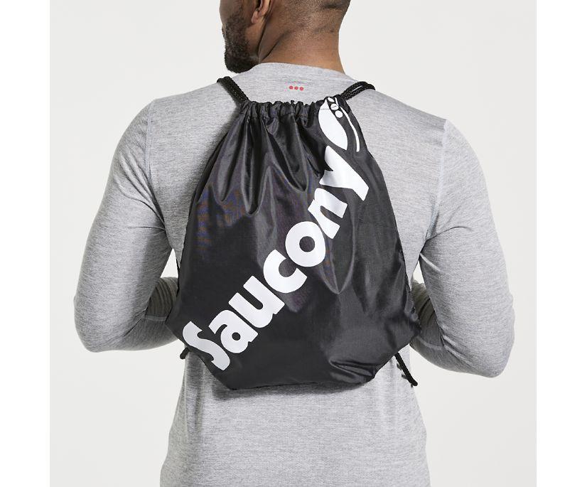 Saucony String Bag, Black, dynamic