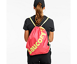 Saucony String Bag, Calypso Coral, dynamic