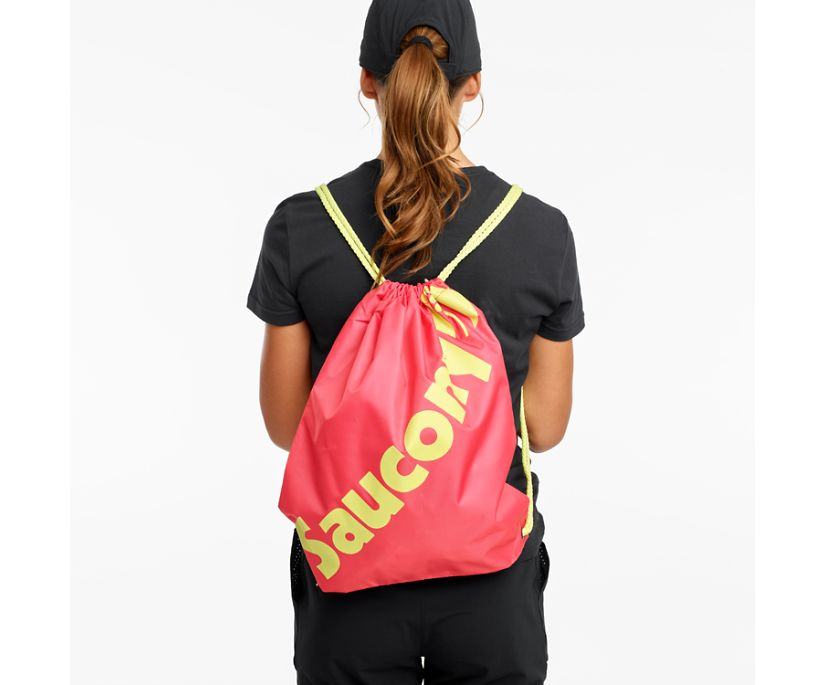 Saucony String Bag, Calypso Coral, dynamic