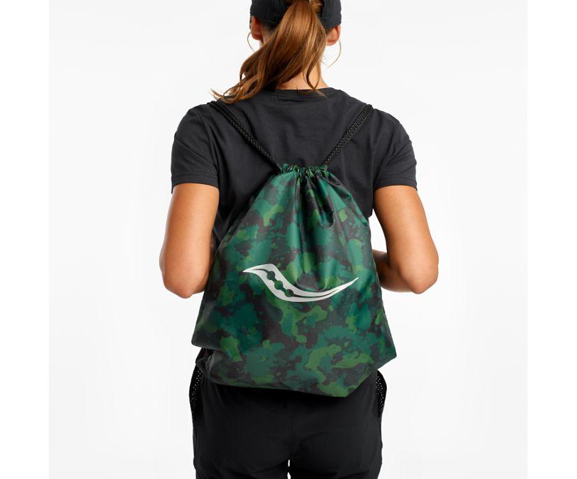 Saucony String Bag, Greener Pastures Print, dynamic
