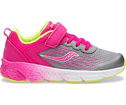 Wind A/C Sneaker, Grey/Pink, dynamic