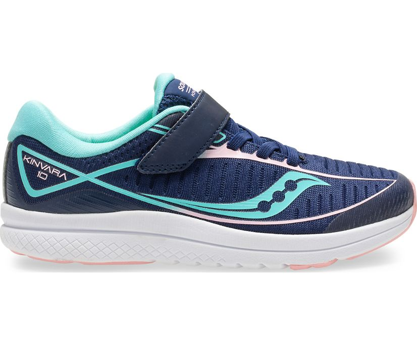 Kinvara 10 A/C Sneaker, Navy/Turq, dynamic