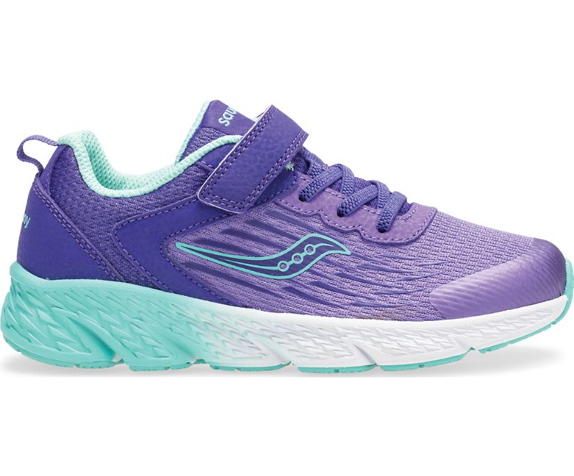 Wind A/C Sneaker, Purple, dynamic