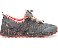 Shift Sneaker, Grey | Coral, dynamic
