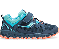 Peregrine Shield 2 A/C Sneaker, Navy | Turquoise, dynamic