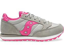 Jazz Original Sneaker, Grey | Pink, dynamic