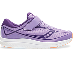 Kinvara 10 A/C Sneaker, Purple | White, dynamic