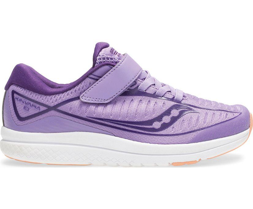 Kinvara 10 A/C Sneaker, Purple | White, dynamic