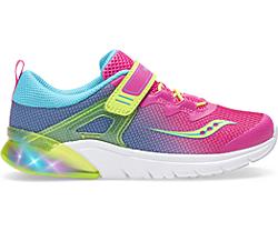 Flash Glow A/C Sneaker, Pink Multi, dynamic