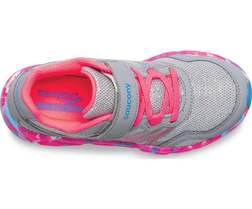 Flash A/C Sneaker, Grey | Coral Multi, dynamic