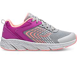 Wind Lace Sneaker, Purple | Grey, dynamic