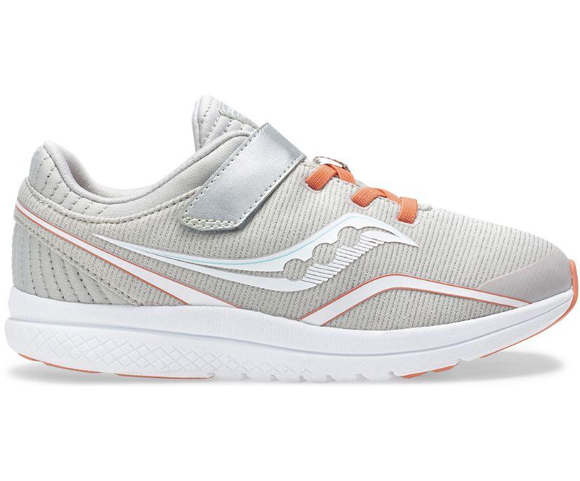 Kinvara 11 A/C Sneaker, Silver | Coral, dynamic