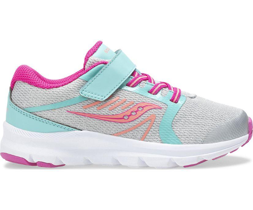 Inferno Lite A/C Sneaker, Silver | Turq | Pink, dynamic
