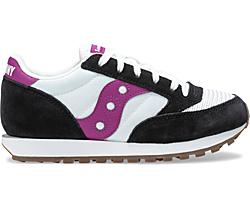 Jazz Original Vintage Sneaker, White | Black | Berry, dynamic