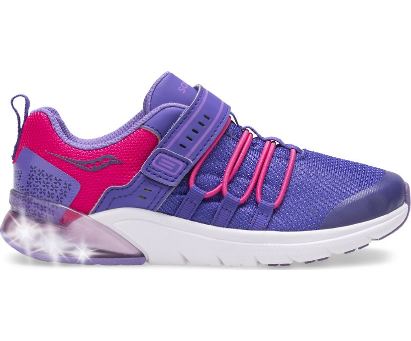Flash Glow 2.0 Sneaker, Purple | Pink, dynamic