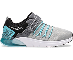 Flash Glow 2.0 Sneaker, Silver | Ice Blue, dynamic