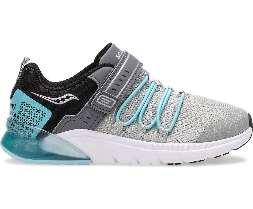Flash Glow 2.0 Sneaker, Silver   Ice Blue, dynamic