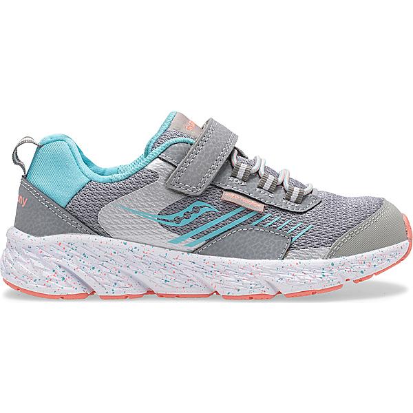 Wind Shield A/C Sneaker, Grey | Turq, dynamic