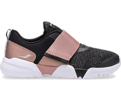 Vertex A/C Sneaker, Black | Rose | Gold, dynamic