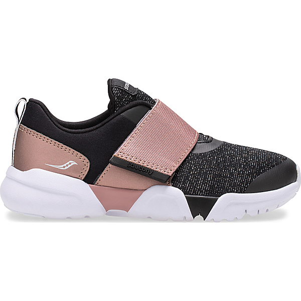 Vertex A/C Sneaker, Black | Rose | Gold, dynamic