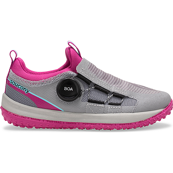 Switchback 2.0 Sneaker, Grey | Magenta, dynamic