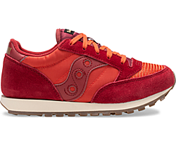 Jazz Original Vintage Sneaker, Red Dahlia | Summer Fig, dynamic