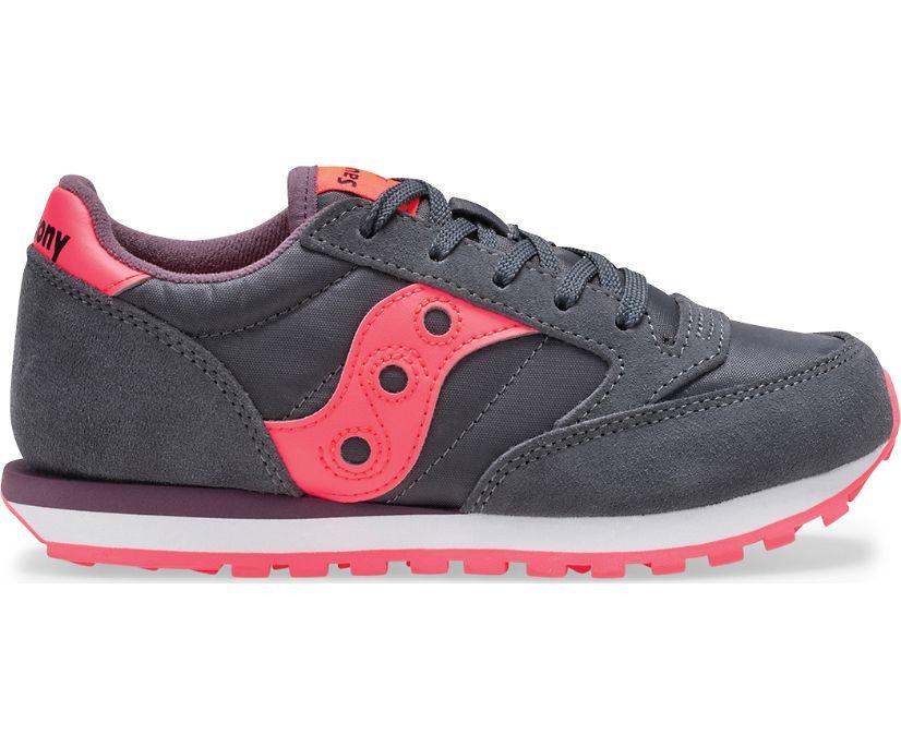 Jazz Original Sneaker, Dark Grey | Coral, dynamic