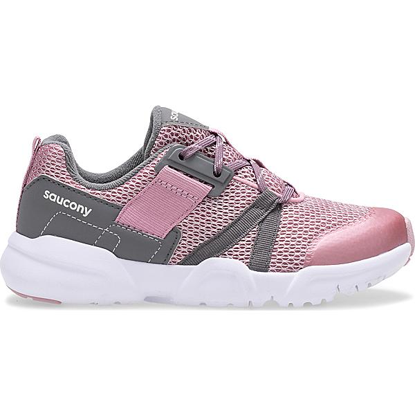 Vertex Lace Sneaker, Blush | Grey, dynamic