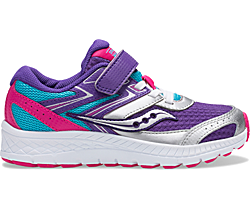 Cohesion 13 A/C Sneaker, Purple | Turq | Pink, dynamic