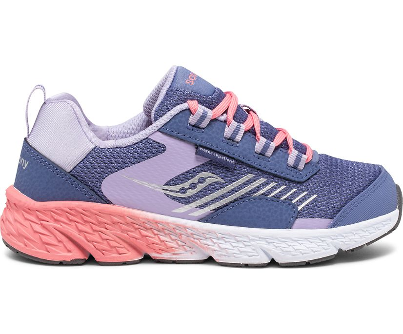 Wind Shield Sneaker, Blue | Lavender | Coral, dynamic