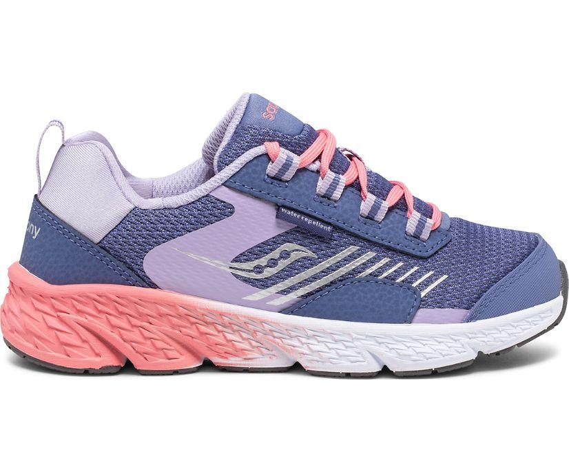 Wind Shield Sneaker, Blue   Lavender   Coral, dynamic