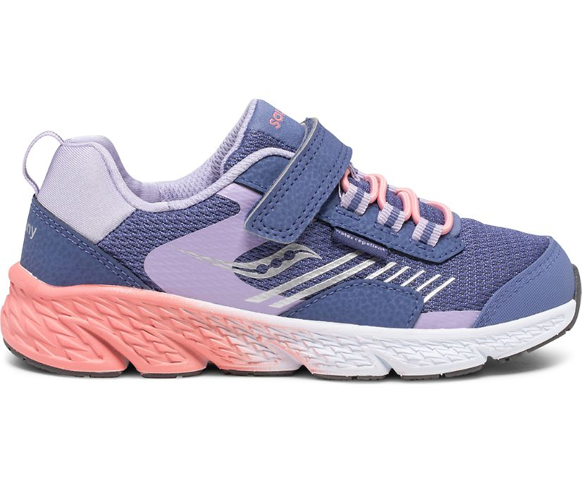 Wind Shield A/C Sneaker, Blue | Lavender | Coral, dynamic