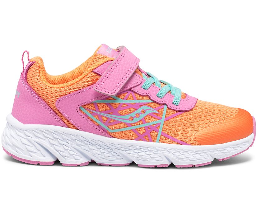 Wind A/C Sneaker, Pink | Coral, dynamic