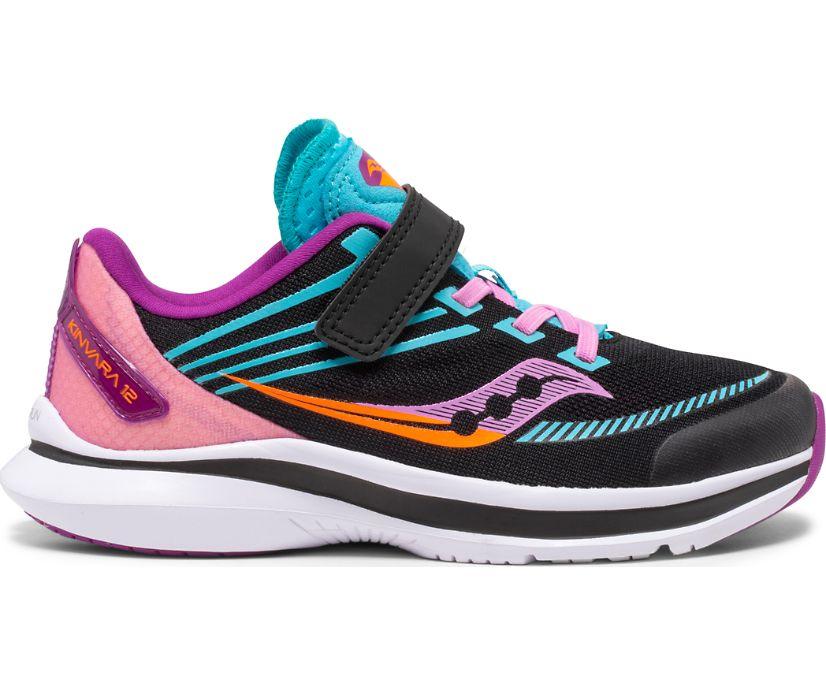 Kinvara 12 A/C Sneaker, Black | Pink, dynamic