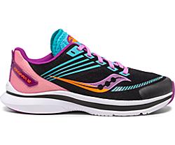 Kinvara 12 Sneaker, Black | Pink, dynamic