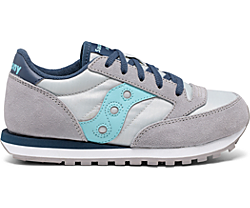 Jazz Original Sneaker, Grey | Light Blue, dynamic