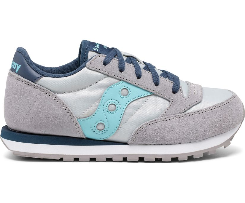 Jazz Original Sneaker, Grey | Light Blue, dynamic