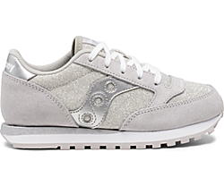 Jazz Original Sneaker, Silver Metallic, dynamic