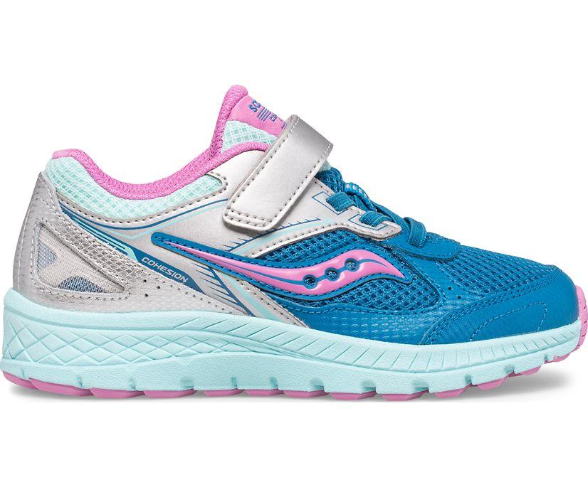Cohesion 14 A/C Sneaker, Turq | Pink, dynamic