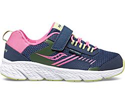 Wind Shield A/C Sneaker, Navy | Green | Pink, dynamic