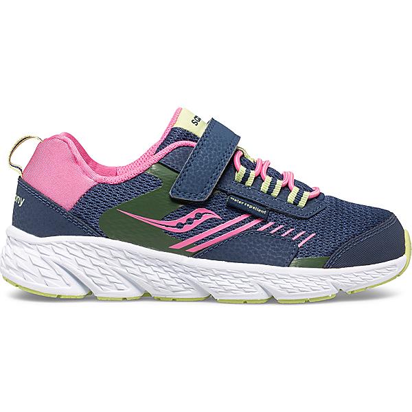Wind Shield A/C Sneaker, Navy   Green   Pink, dynamic
