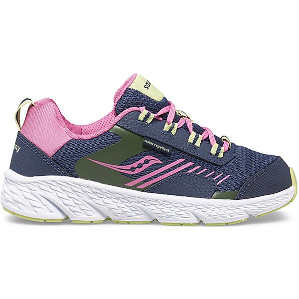 Wind Shield Sneaker, Navy   Green   Pink, dynamic