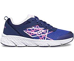 Wind Lace Sneaker, Blue | Pink, dynamic