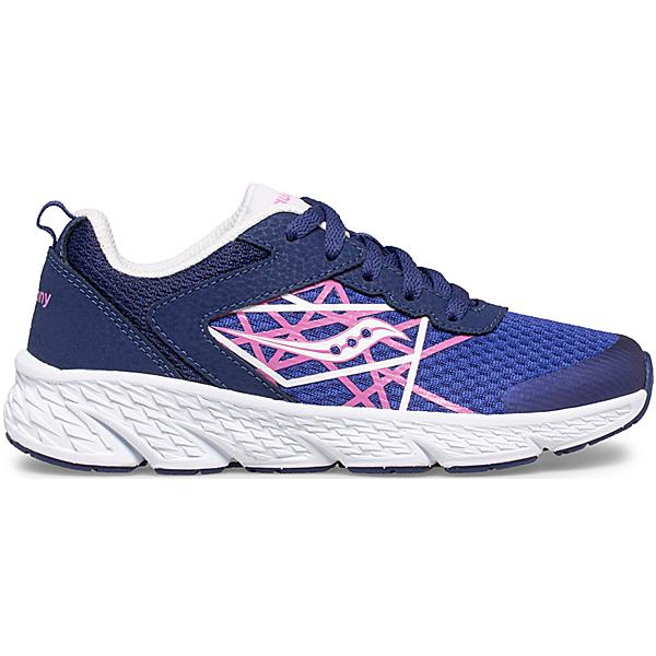 Wind Lace Sneaker, Blue   Pink, dynamic