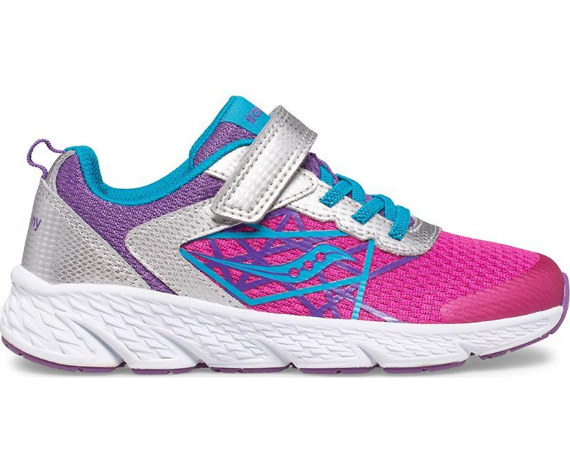 Wind A/C Sneaker, Fuchsia | Purple | Teal, dynamic
