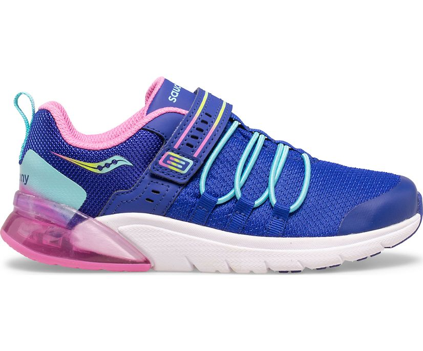 Flash Glow 2.0 Sneaker, Navy   Pink Multi, dynamic